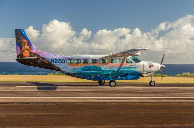 Big Island Sunset Flight from Kona on Hawaii