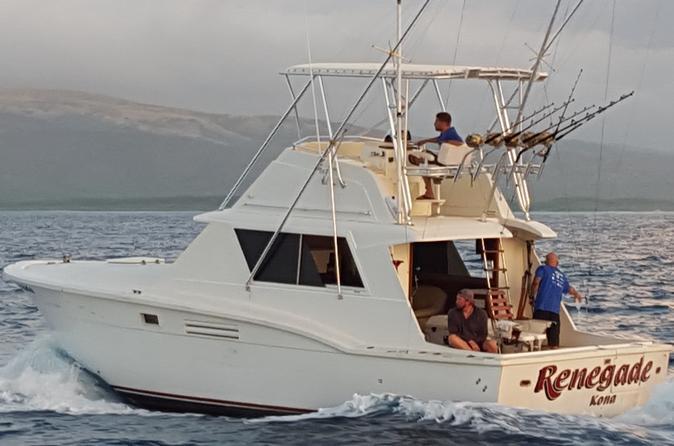 Deep Sea Full Day Fishing Charter on Oahu