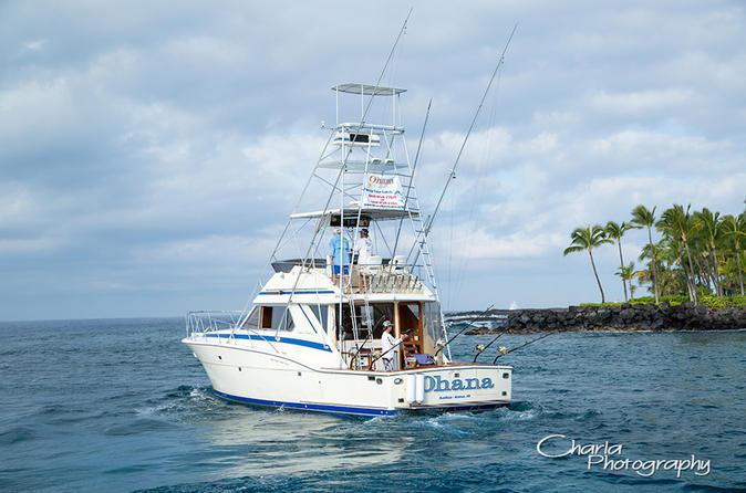 Full Day Sport Fishing Charter on Hawaii