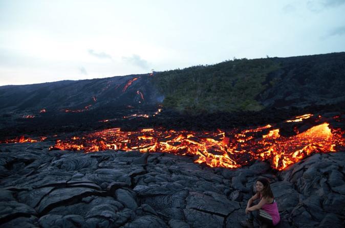 Lava Hike on Hawaii