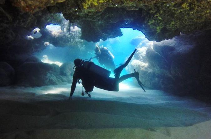 Lava Tube Dives On Oahu