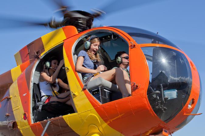 Open-Door Helicopter Tour on Oahu