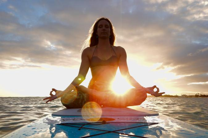 Paddleboard Yoga on Oahu