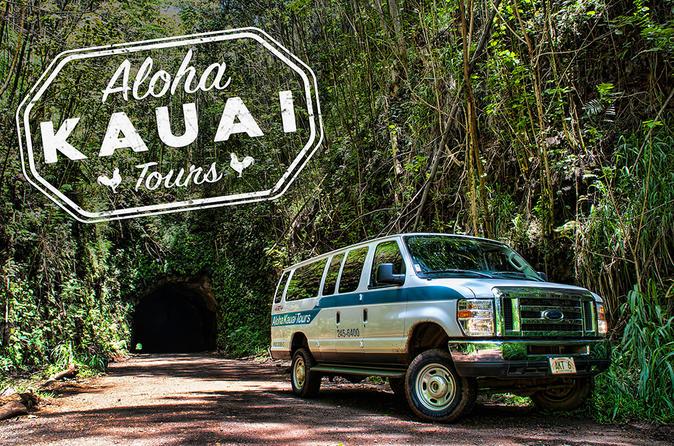 Rainforest 4x4 Van Tour and Hiking Adventure on Kauai