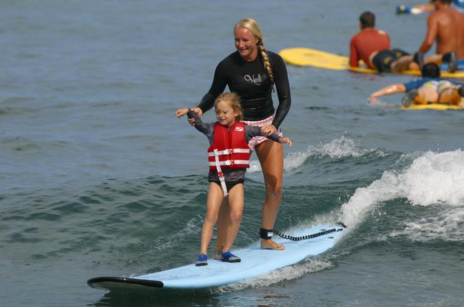Small-Group Surf Lesson on the Big Island on Hawaii
