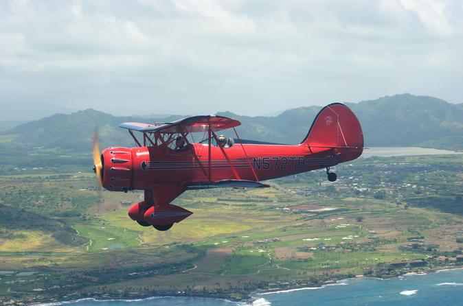 Vintage Biplane Tour of Kauai on Kauai
