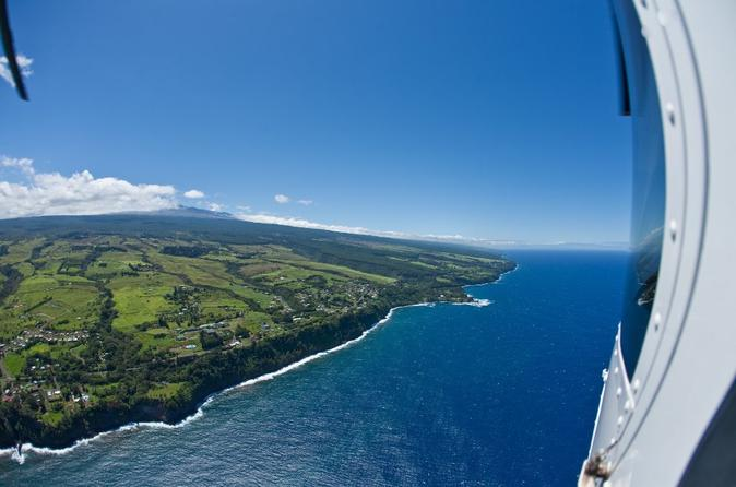 Volcano and Kohala Landing Helicopter Tour on Hawaii